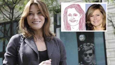 Site de Carla Bruni: Sarah Brown, caricaturée et perplexe