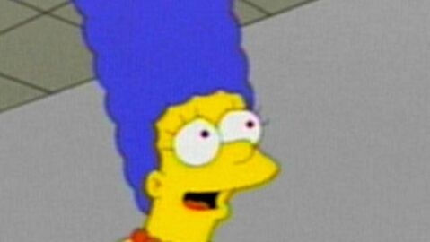Les Simpson : Marge sexy en couverture de Playboy