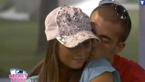 Secret Story 3: le premier baiser de Jonathan et Sabrina