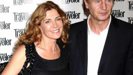 Liam Neeson se confie sur la mort de sa femme