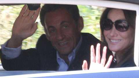 Nicolas Sarkozy et Carla Bruni en vacances au Cap Nègre