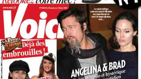 Brad Pitt & Angelina Jolie, terminé!