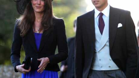 Prince William à un mariage avec Kate Middleton