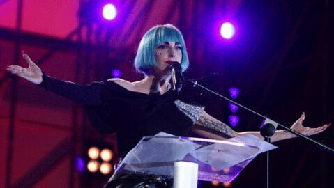 Lady Gaga: un discours contre l'homophobie à l'Europride