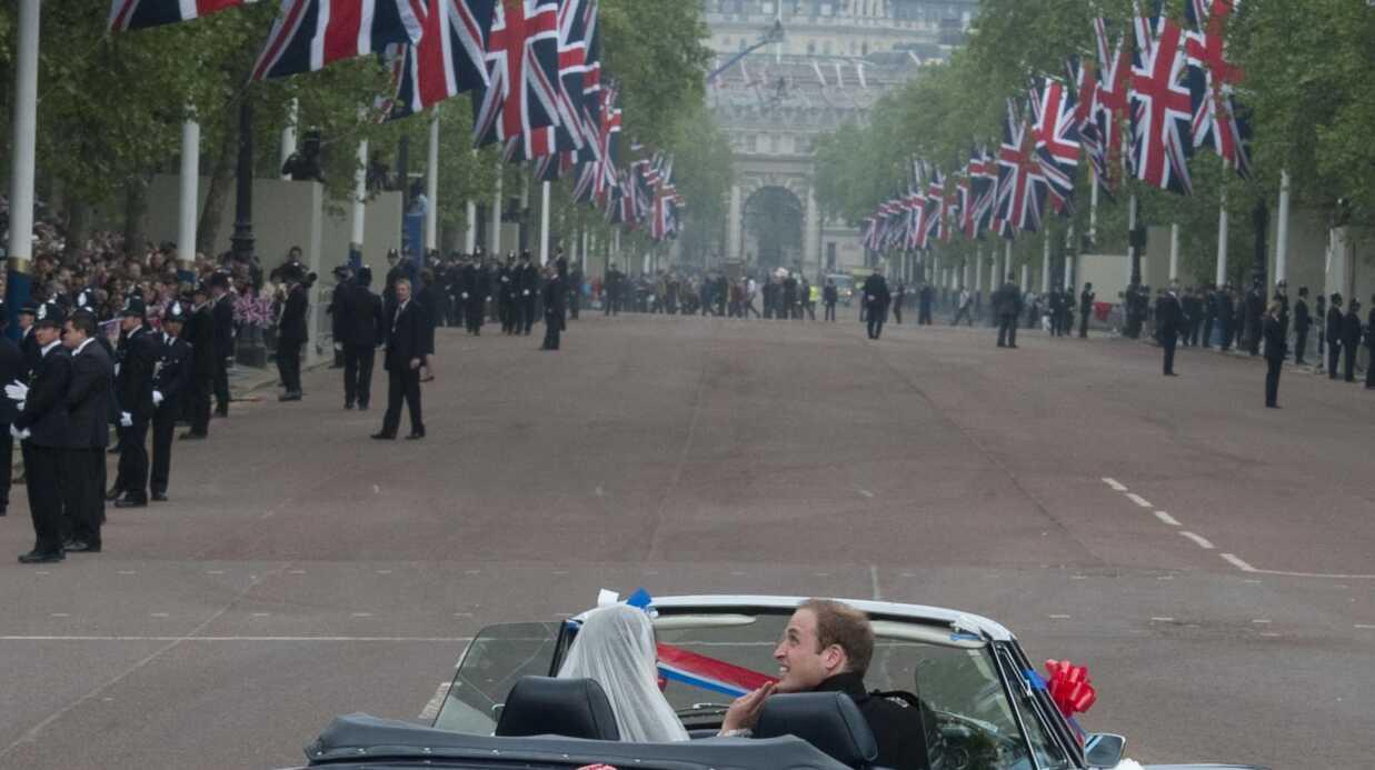 Mariage de Kate et William: sortie surprise en Aston Martin