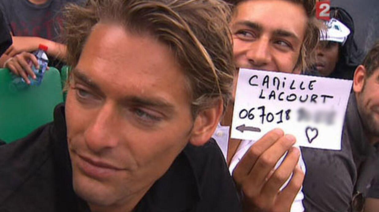 Roland Garros / Camille Lacourt, ce n'est pas son numéro