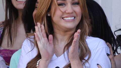 Miley Cyrus et Nick Jonas ensemble en studio