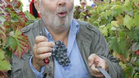 Gérard Jugnot, parrain des vendanges de Montmartre 2010