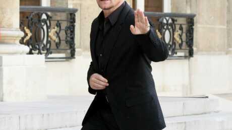 Bono, le chanteur du goupe U2, a été reçu par Nicolas Sarkozy à l'Elysée