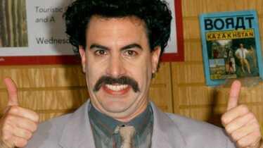 Borat n'est plus