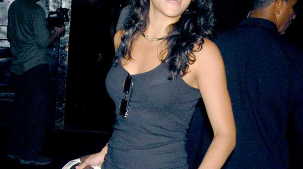 Michelle Rodriguez Son Noël sous les barreaux