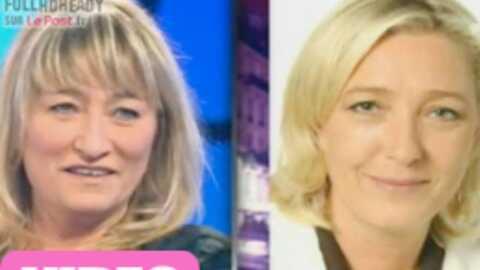 Christine Bravo fatiguée d'être prise pour Marine Le Pen