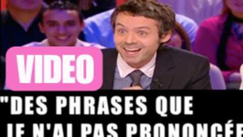 VIDEO Yann Barthès accusé de «manipulation» par François Bayrou