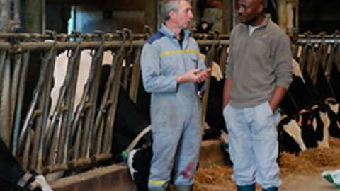 Harry Roselmack en immersion dans le monde agricole