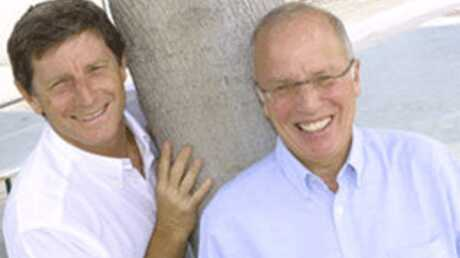 Thierry Roland et Jean-Michel Larqué: ensemble dans un film