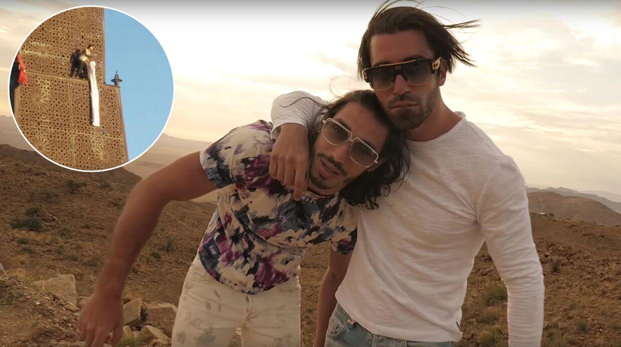 VIDEO A 32 mètres de hauteur, un fan menace de sauter si PNL ne vient pas en concert en Tunisie