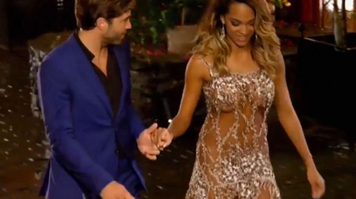 A moitié nue pour le Bachelor, Naëlle s'explique sur sa robe très osée