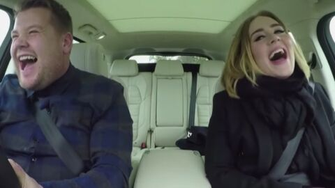 VIDEO Adele en covoiturage, elle chante ses tubes