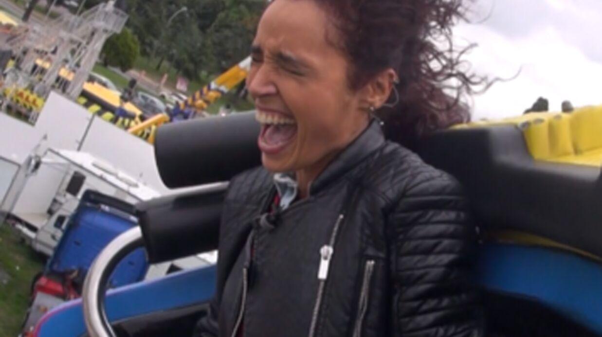 VIDEO Aïda Touihri fait une interview dans un vrai grand 8 et a très TRÈS peur