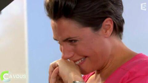 VIDEO Alessandra Sublet quitte C à vous en larmes