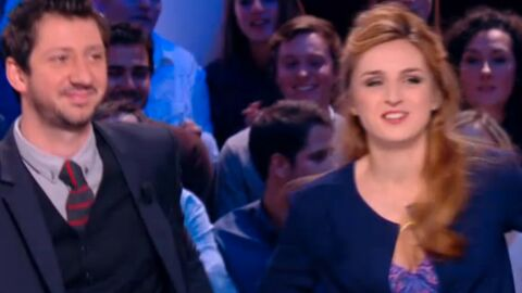 VIDEO Alison Wheeler, la miss météo du Grand Journal, en montre trop en direct