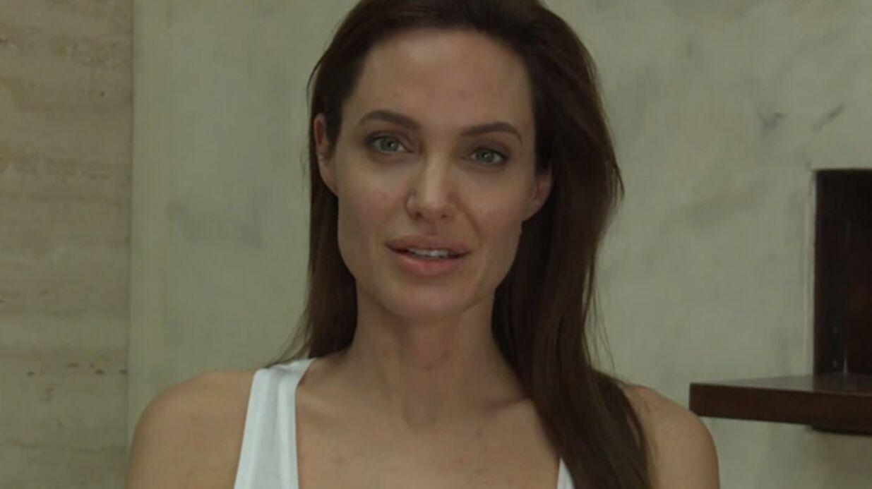 VIDEO Angelina Jolie interrompt sa tournée à cause de la varicelle