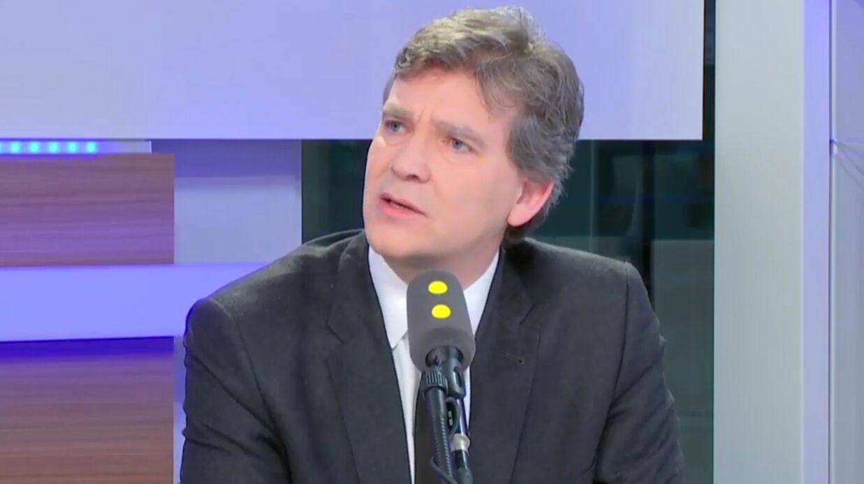 VIDEO Gros malaise en plateau, Arnaud Montebourg «oublie» la présence d'une journaliste