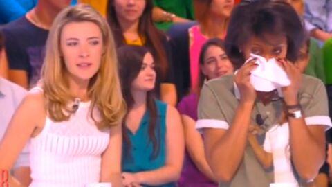 VIDEO Audrey Pulvar fond en larmes en faisant ses adieux à ses copines du Grand 8