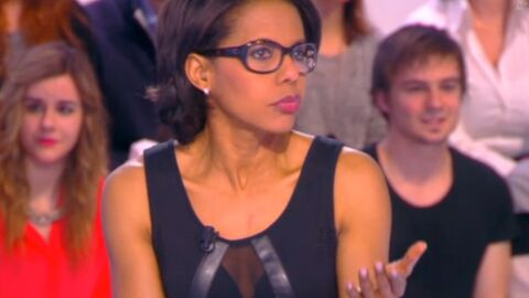 VIDEO Audrey Pulvar ose une tenue très hot dans le Grand 8
