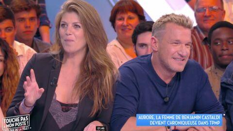 Benjamin Castaldi: sa femme Aurore rejoint Touche pas à mon poste, il n'était pas au courant