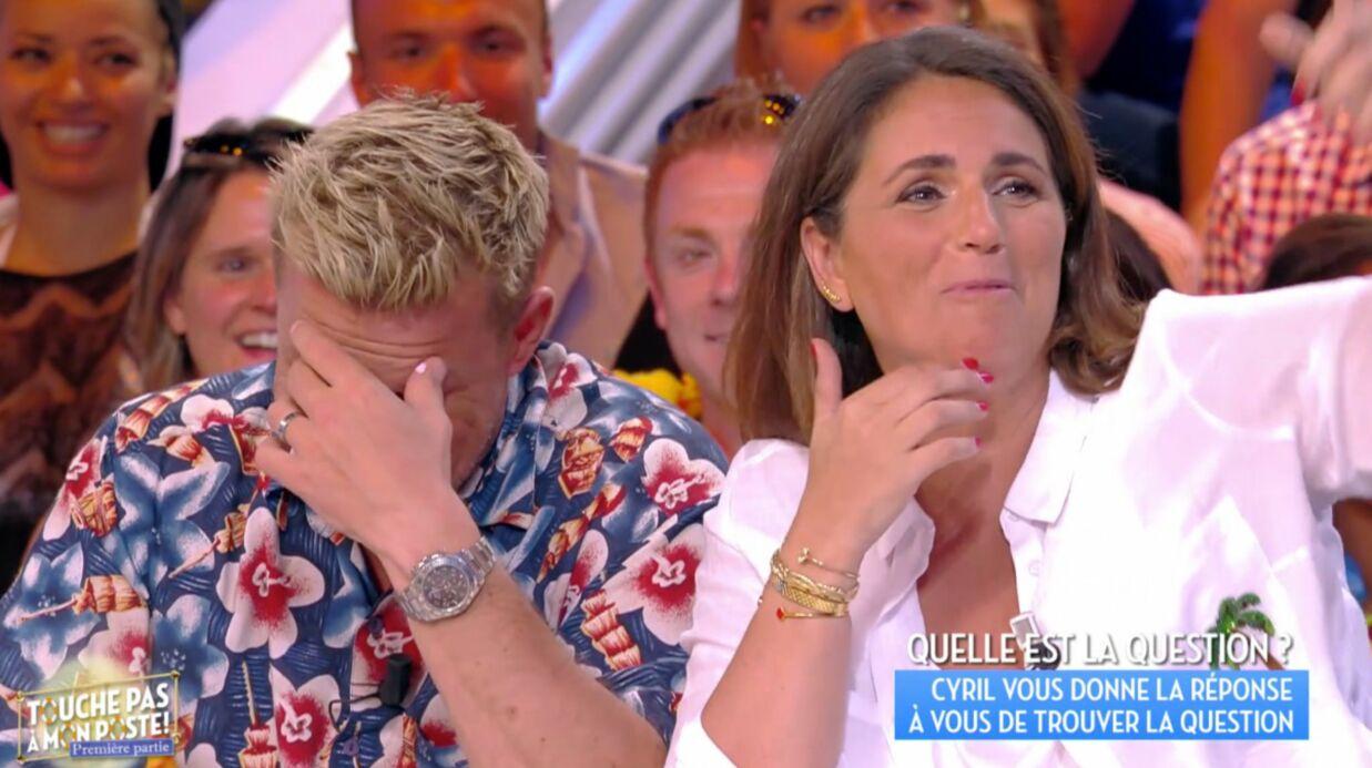 Benjamin Castaldi TRÈS gêné après une révélation de Valérie Benaïm sur sa mauvaise habitude en loges
