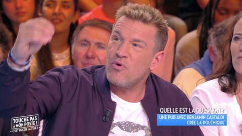 Benjamin Castaldi: TRÈS remonté, il répond à la polémique de sa pub avec Loana