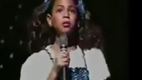 Beyoncé: une vidéo d'elle chantant à 7 ans refait surface