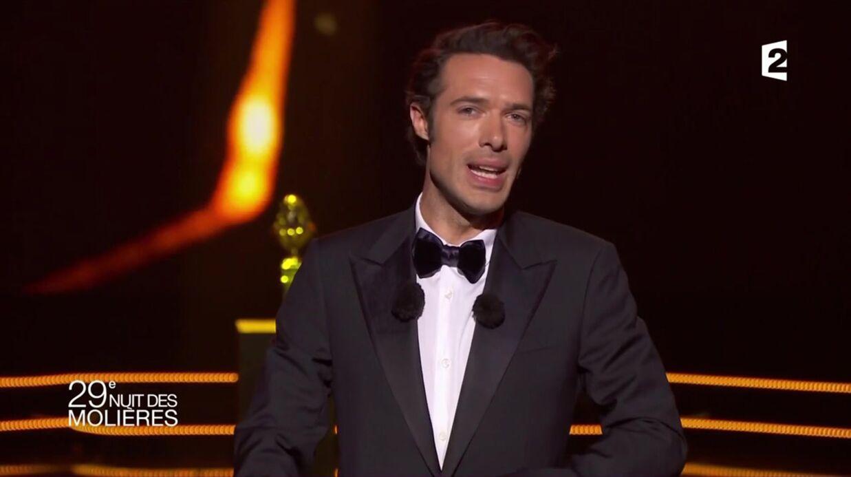 VIDEO Molières 2017: Nicolas Bedos tacle la présidente de France Télévisions, elle en rit
