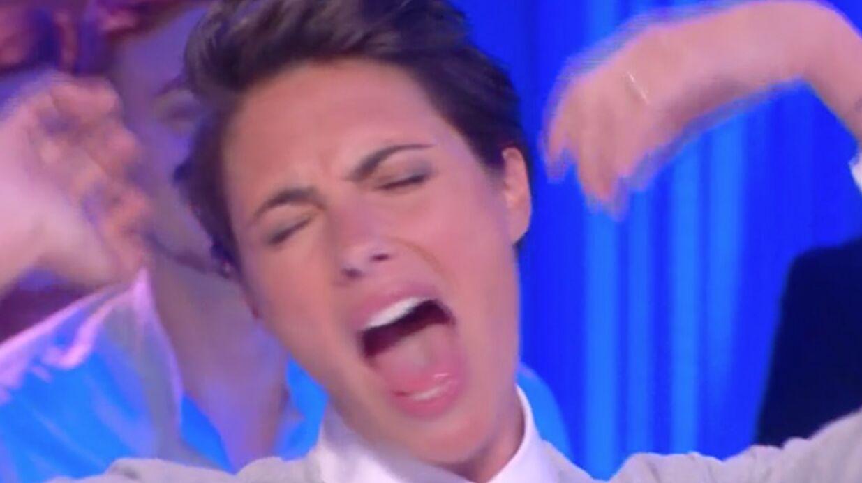 VIDEO Alessandra Sublet simule un orgasme en direct à la télévision