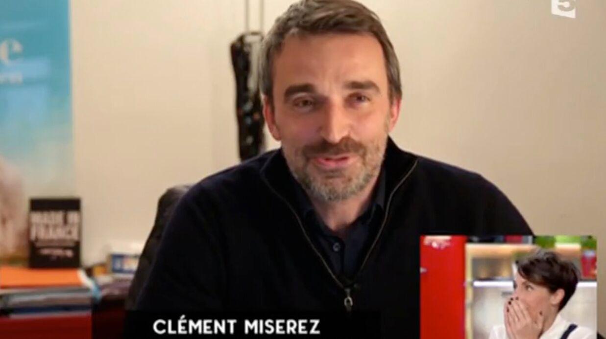 VIDEO Alessandra Sublet très émue par la surprise de son mari en direct dans C à vous