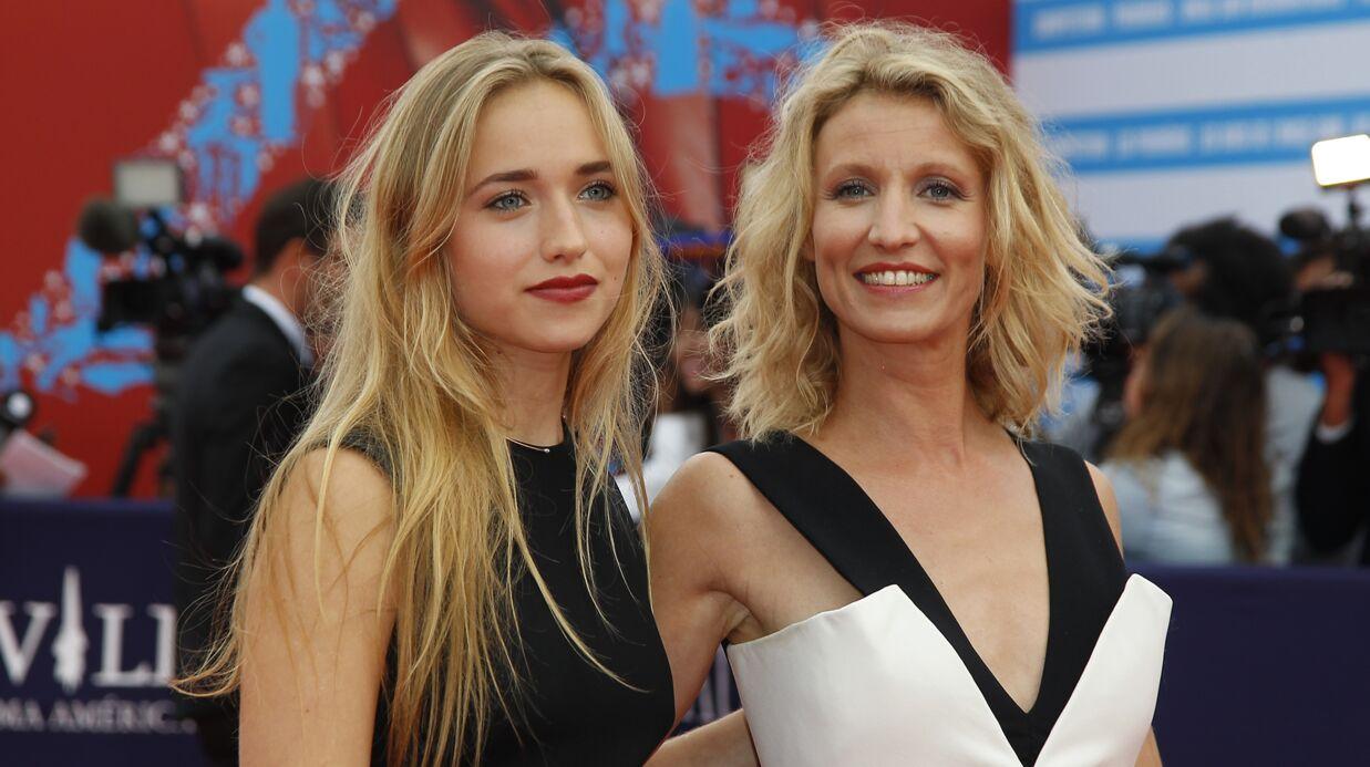 VIDEO Alexandra Lamy refuse tout net d'aider sa fille comédienne dans le métier
