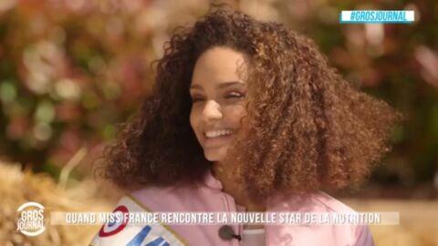 VIDEO Footballeurs, chanteurs… Miss France 2017 révèle être draguée par des stars françaises