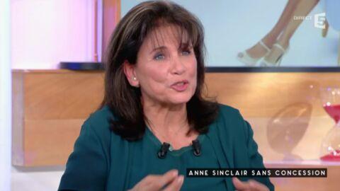 Anne Sinclair dézingue Karine Le Marchand et son émission Une ambition intime