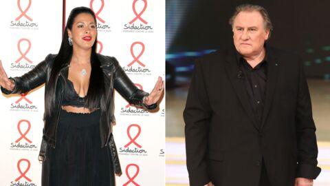 Ayem Nour draguée par Gérard Depardieu dans un bain à remous: elle n'a pas aimé