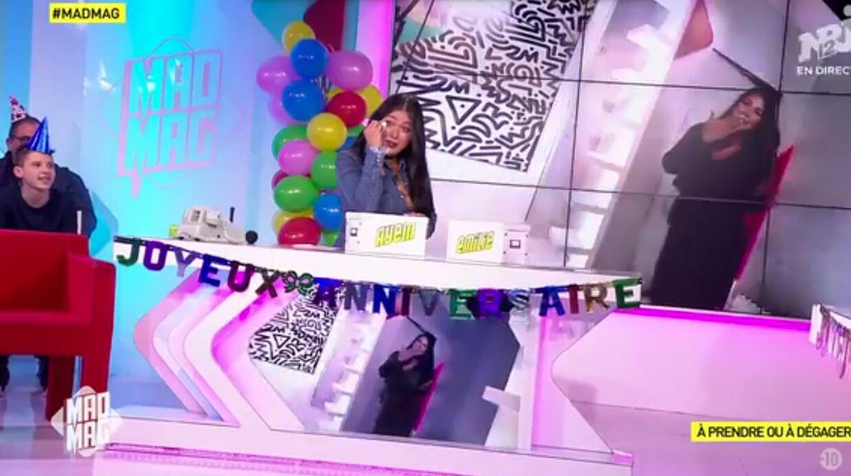 VIDEO Mad Mag: Ayem Nour émue aux larmes pour son anniversaire
