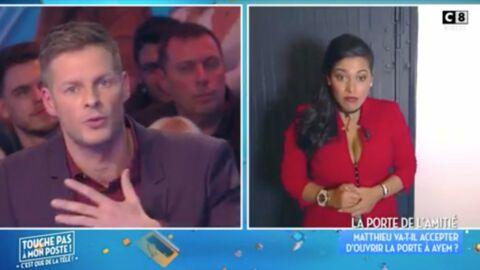 VIDEO Ayem Nour vient faire la paix avec Matthieu Delormeau, il ne lui fait pas la bise
