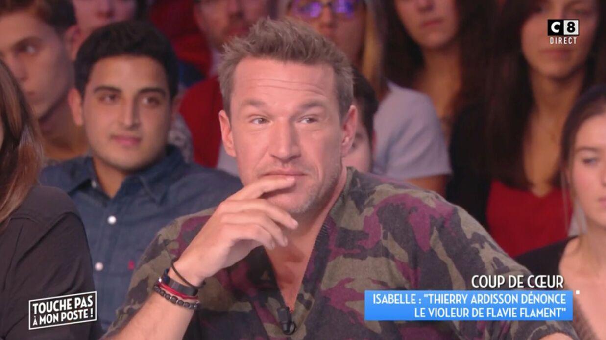 VIDEO Benjamin Castaldi réagit à la révélation du nom du violeur de Flavie Flament