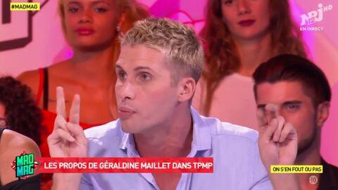 VIDEO Benoît Dubois tacle Géraldine Maillet après ses critiques sur la téléréalité