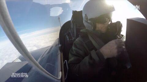 VIDEO Bernard de la Villardière perd connaissance en vol avec un pilote de chasse