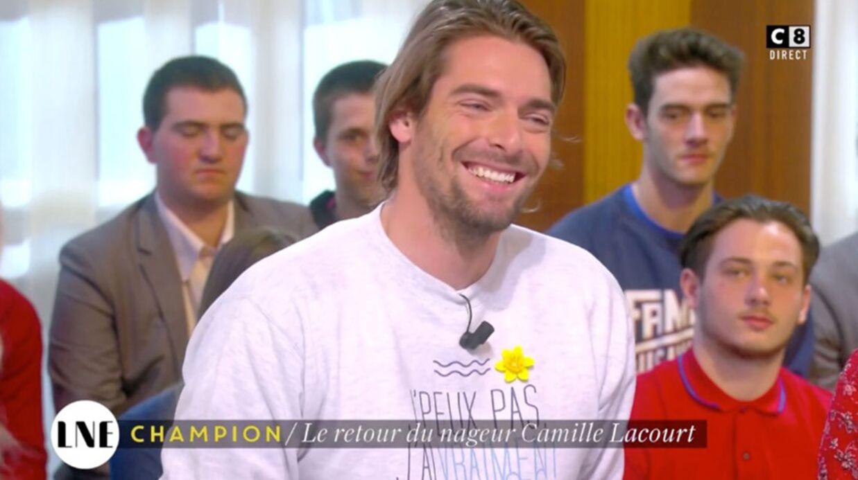 VIDEO Camille Lacourt arrive en retard dans la Nouvelle Edition: son explication vaut le détour