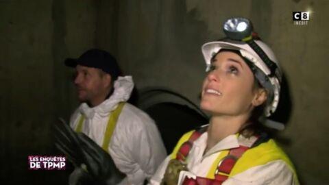 VIDEO Capucine Anav hystérique en visitant les égouts dans l'émission de Cyril Hanouna
