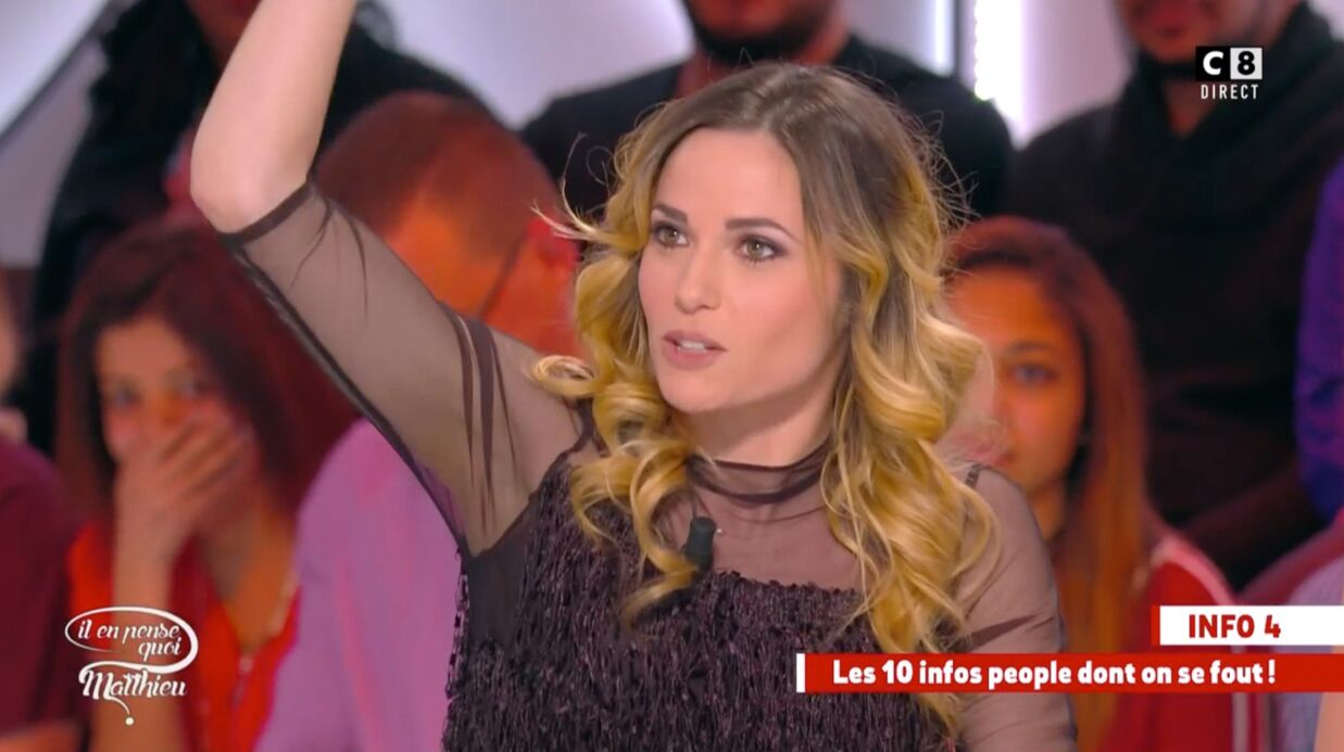 VIDEO Capucine Anav raconte son claquage alors qu'elle faisait l'amour