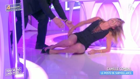 VIDEO TPMP : la grosse chute de Caroline Ithurbide en tentant le porté de Dirty Dancing