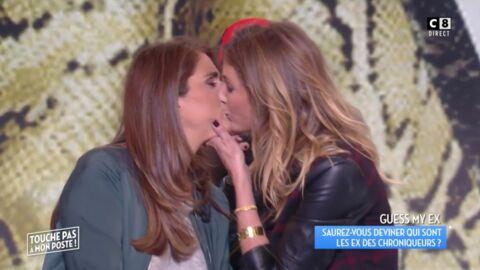 VIDEO Caroline Ithurbide embrasse Valérie Benaïm sur la bouche pour raconter sa rencontre hot avec une star